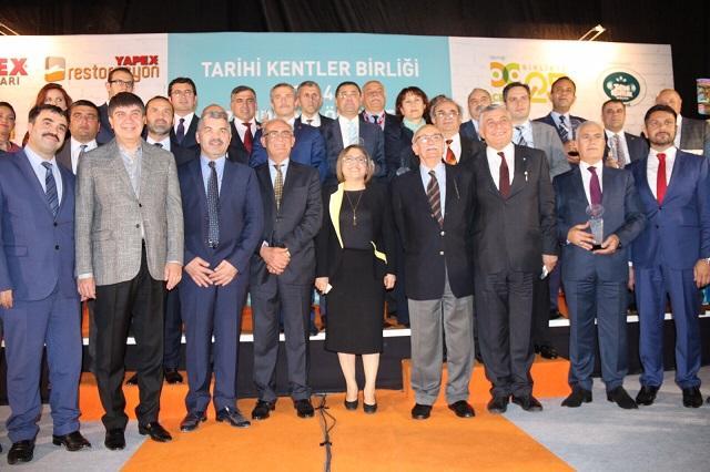 TKB, tarihi ve kültürel mirası koruyan belediyeleri ödüllendirdi