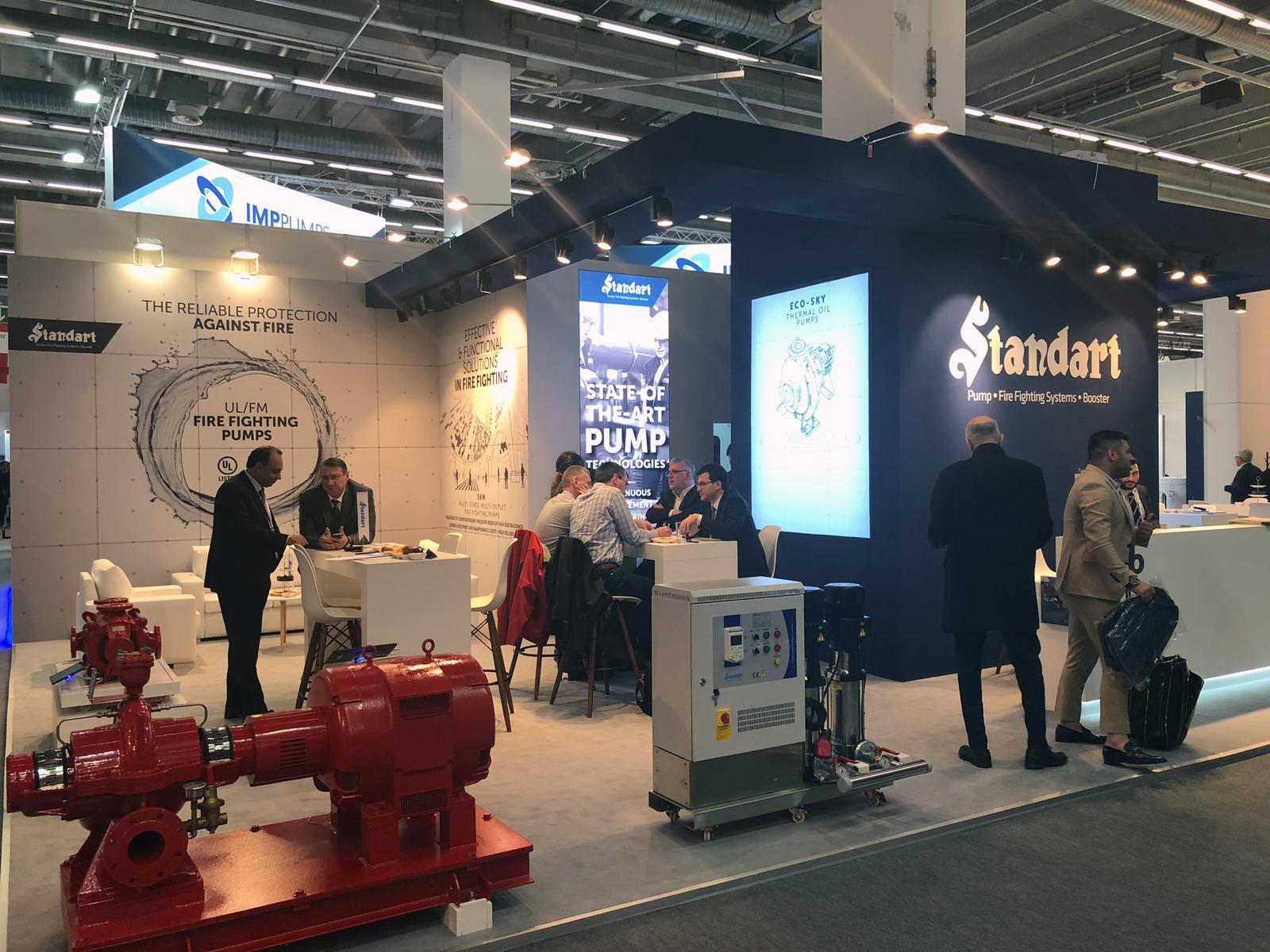 Standart Pompa, ISH Frankfurt 2019'daydı
