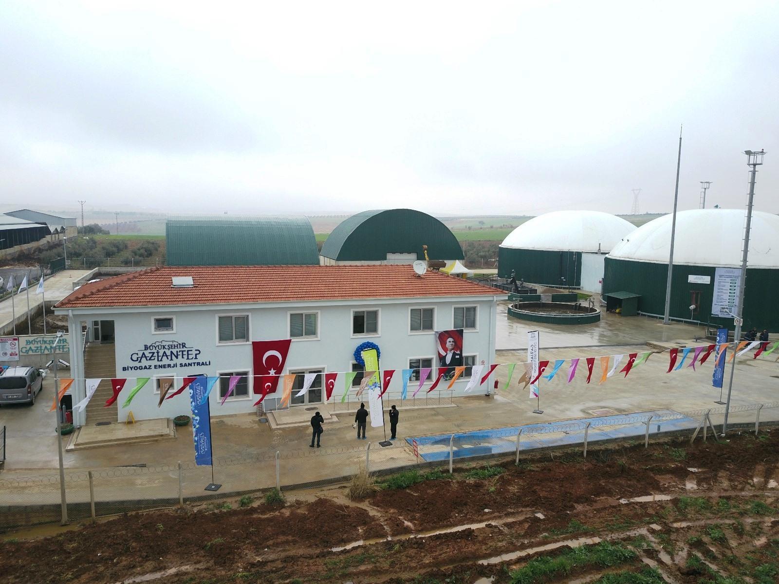 Teksan kojenerasyon sistemi ile Gaziantep'te hayvansal atıklar ısı ve elektriğe dönüşüyor
