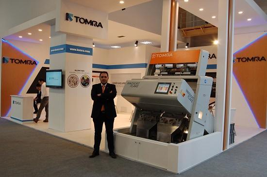TOMRA'nın yeni INNOSORT FLAKE ayıklama makinesi, IFAT Eurasia 2019'da büyük ilgi gördü