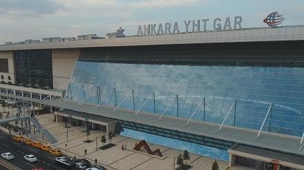 Ankara Yüksek Hızlı Tren Garı Türkiye'nin İlk LEED Gold Sertifikalı Tren İstasyonu Oldu