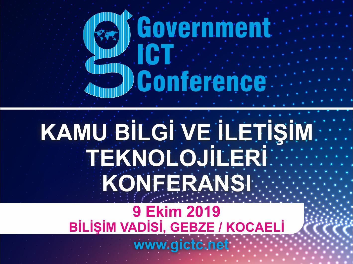 Kamu Bilgi ve İletişim Teknolojileri Konferansı Ekim'de gerçekleşecek