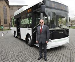 Otokar, Türkiye'nin ilk elektrikli otobüsünü üretti