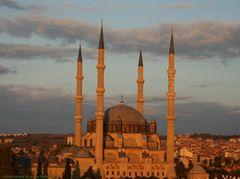 Edirne Selimiye Camii UNESCO Dünya Miras listesinde...