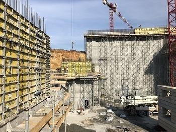 İBB'nin Katı Atık Yakma ve Enerji Üretim Tesisi Projesi'nin Kalıp ve İskele Sistemleri Doka Kalıp'tan