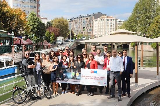 """Eskişehir Büyükşehir Belediyesi bisiklet kullanımını yaygınlaştırmak için harekete geçti: """"Haydi Eskişehir Bisiklete!"""""""