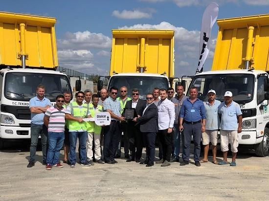 Otokar, Tekirdağ Büyükşehir Belediyesi'ne Atlas'ları teslim etti