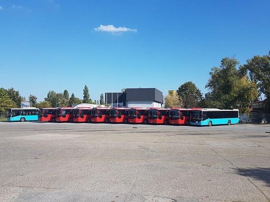 Sırbistan'daki Otokar Otobüslerinin Sayısı Artıyor