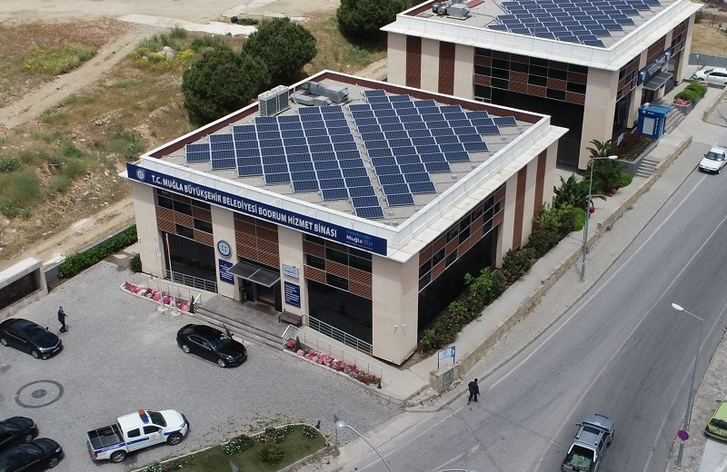 Muğla Büyükşehir Belediyesi 1000 Hanenin Elektriğini Güneşten Üretecek