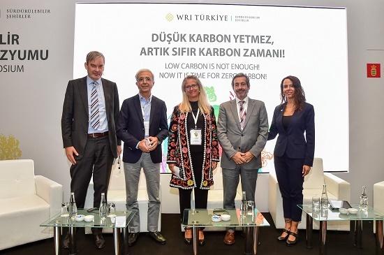 WRI Türkiye Sürdürülebilir Şehirler - 7. Yaşanabilir Şehirler Sempozyumu:  Şehirler İçin 'Düşük Karbon Yetmez, Artık Sıfır Karbon Zamanı!'