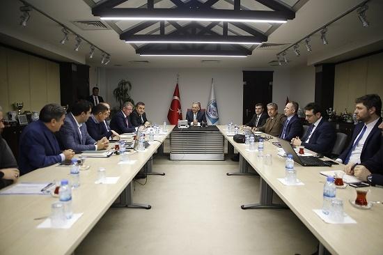 Kayseri'de Ulaşım Koordinasyon Toplantısı Yapıldı