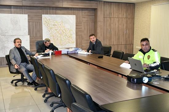 Karabük'te Şehir İçi Trafiğinin Sorunları Masaya Yatırıldı