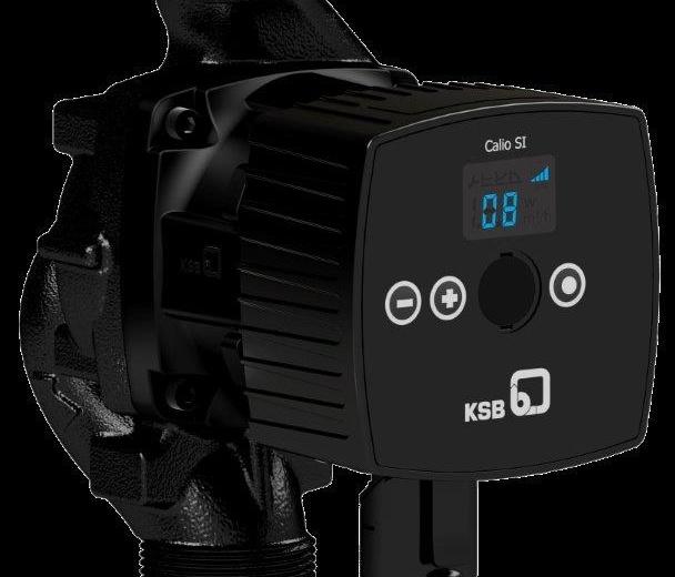 KSB, Yeni 150 Watt Calio SI HP Sirkülasyon Pompaları ile ürün gamını genişletiyor