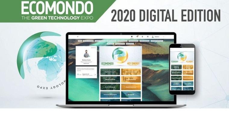 ECOMONDO ve KEY ENERGY Fuarlarının Dijital Etkinliği 15 Kasım'a Kadar Devam Edecek