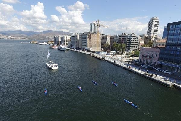 İzmir Büyükşehir Belediyesi'nden Temiz Körfez için Önemli Adım