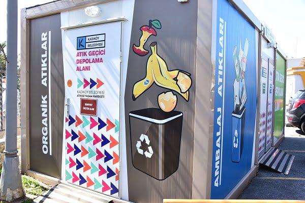 Kadıköy'de Yemekhane Atıkları Komposta Dönüştü