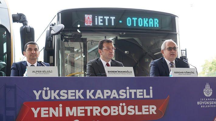 İstanbul'un 100 Yeni Otokar Metrobüsü için İmzalar Atıldı