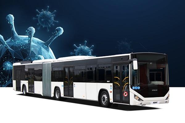 "Otokar'dan COVID-19 Virüsü Bulaş Riskini Azaltan ""Güvenli Otobüs"""