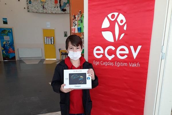 IVECO Türkiye'den Ege Çağdaş Eğitim Vakfı (EÇEV) İşbirliği ile COVID-19 Mağduru Çocuklara Destek