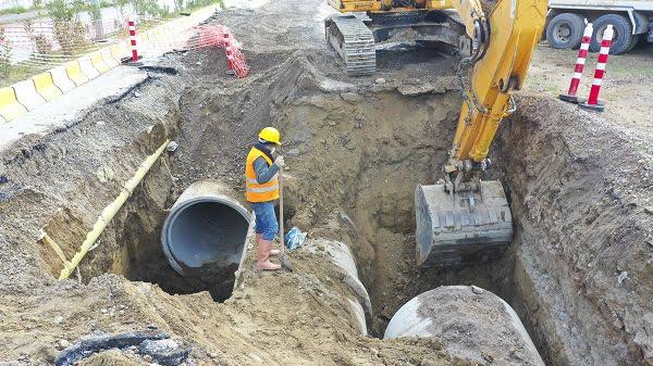 Aydın Büyükşehir Belediyesi'nden Dev Yağmur Suyu Hattı