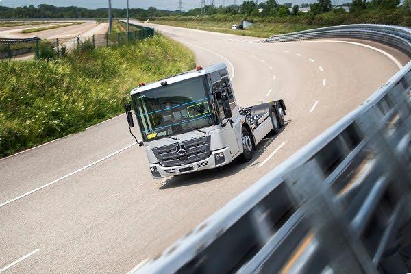 Mercedes-Benz eEconic Seri Üretime Doğru İlerliyor