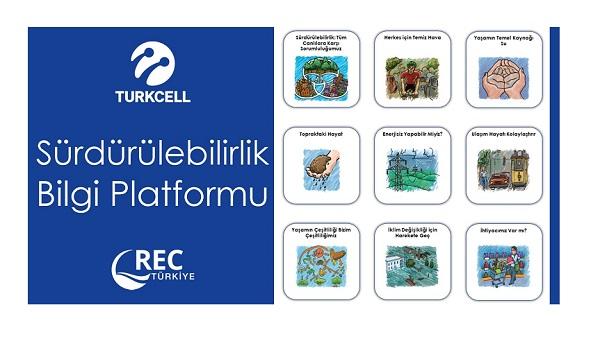 Sürdürülebilirlik Bilgi Platformu, REC Türkiye ve Turkcell İşbirliğiyle Yayında