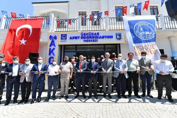 Üsküdar Afet Koordinasyon Merkezi Açıldı