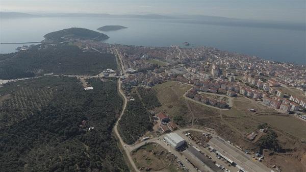 Balıkesir Büyükşehir Belediyesi'nden Erdek'e Dev Yatırım