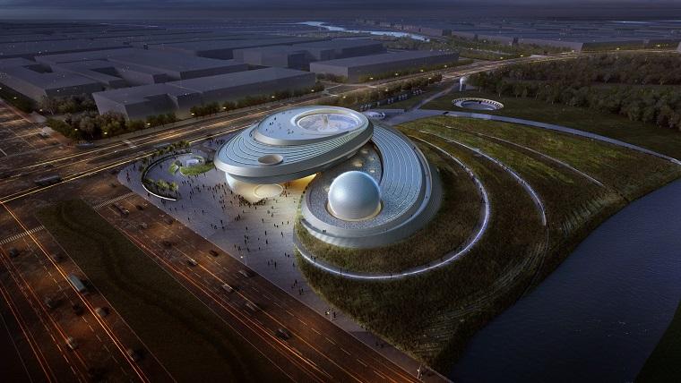 Dünyanın En Büyük Planetaryumu Shanghai'da Kuruluyor