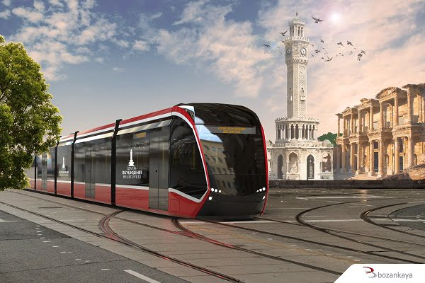 Bozankaya İzmir'de Çevre Dostu Elektrikli Tramvay Dönemini Başlatıyor