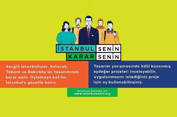 Salacak, Taksim ve Bakırköy'ün Tasarımında Karar İstanbulluların