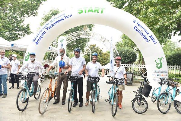 İstanbul'un Geleceği, İklim Değişikliği ve Sürdürülebilirlik için Pedal Çevirdiler