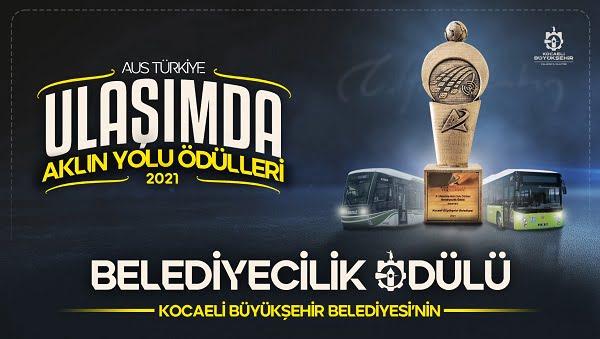 Kocaeli Büyükşehir Belediyesi'ne 'Belediyecilik' ödülü