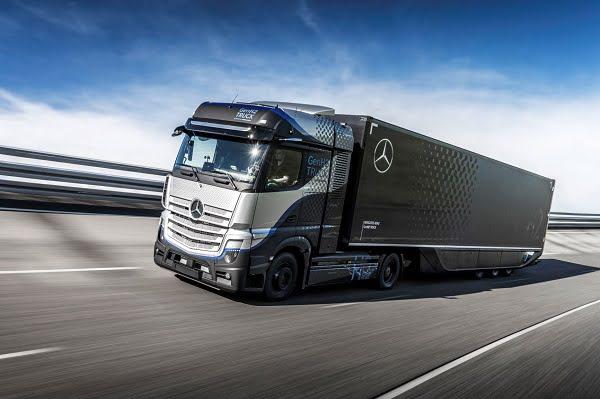 Yakıt Hücreli Mercedes-Benz GenH2 Kamyon'un Kapsamlı Testleri Başlıyor