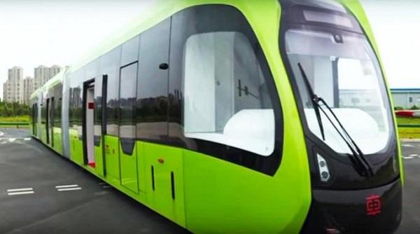 Çin İlk Sürücüsüz Tramvayını Kullanıma Sundu