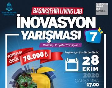 Başakşehir Living Lab İnovasyon Yarışması Son Başvuru Tarihi 28 Ekim
