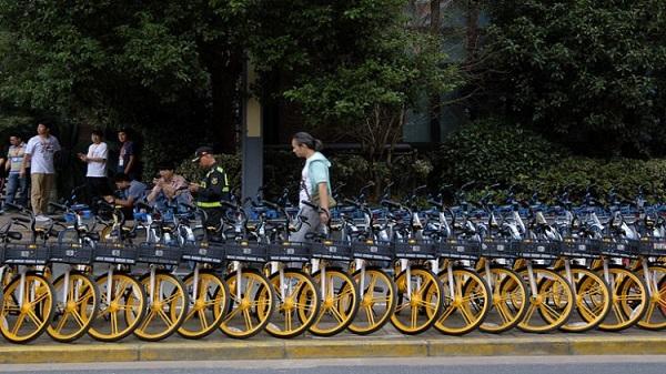 Çin'de Rastgele Bisiklet Park Etme Dönemi Sona Erdi