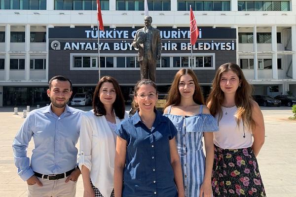 """""""Antalya, MAtchUP projesi ile akıllı şehir olma yolunda"""""""