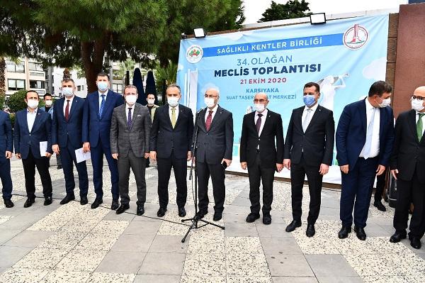 Türkiye Sağlıklı Kentler Birliği İzmir'de Toplandı