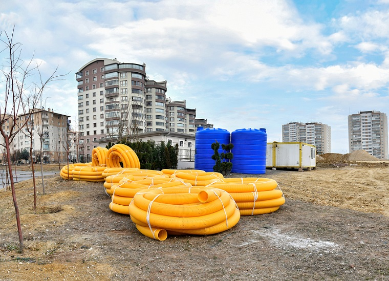 Mansur Yavaş'tan Su İsrafına Karşı Parklarda Yağmur Suları Depolama Projesi