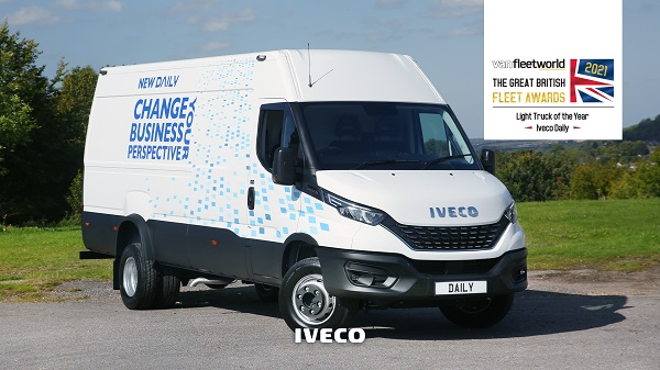 """IVECO Daily """"Yılın Hafif Ticari Aracı"""" Seçildi"""