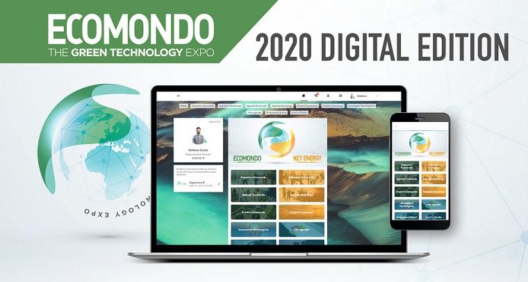 ECOMONDO ve KEY ENERGY, Dijital Etkinliği Başarıyla Sona Erdi