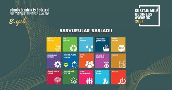 Sürdürülebilir İş Ödülleri 2021 için Başvurular Devam Ediyor