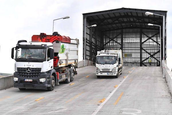 Başkent'te İki Yeni Katı Atık Transfer İstasyonu Devrede