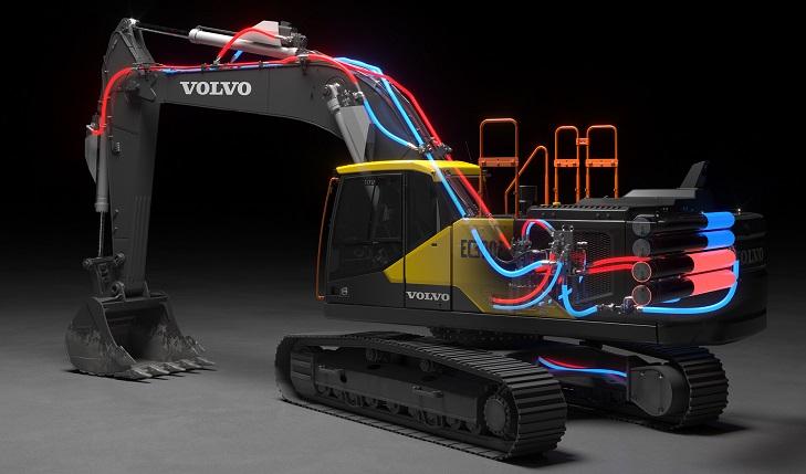 Çığır Açan Yeni Elektro-Hidrolik Sistem, Volvo Teknoloji Ödülü'nü Kazandı
