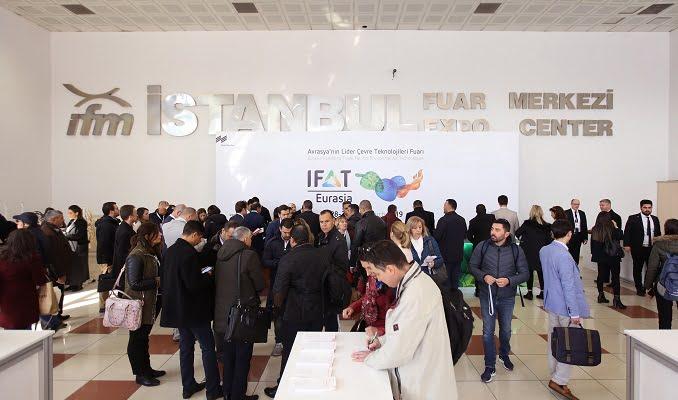 IFAT Eurasia 21-23 Ekim 2021'de
