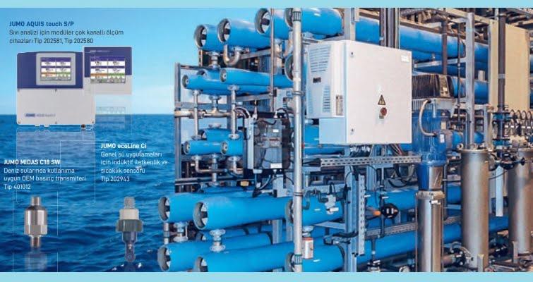 Jumo'dan Deniz Suyunda Desalinasyon için Ölçüm ve Kontrol Teknolojileri