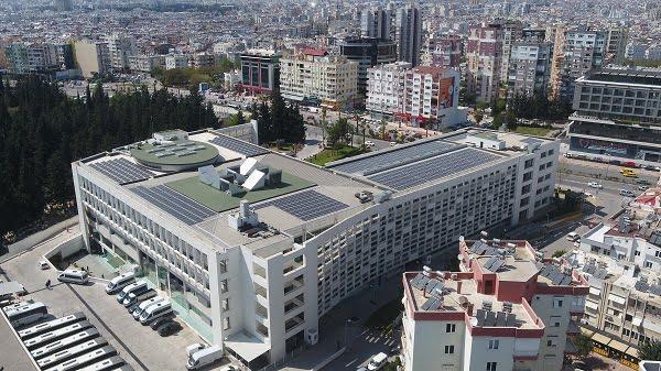 Antalya Büyükşehir Belediyesi Çatısında Elektrik Üretimine Hazır
